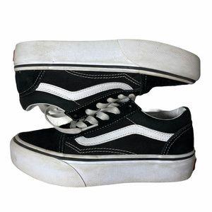 Vans Kids Old Skool Skate Shoe Black/White Sneaker